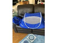 LittleLife Pop-Up Compact Travel Bed Baby Lightweight Travel Bed Cot Camping 0-9 months - Excellent