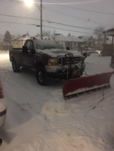 2000 Ford F-250 Powerstroke diesel with plow $4000 as is