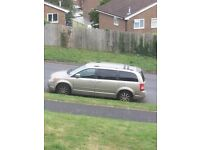 Chrysler Grand Voyager 2.8 CRD Limited 5dr - 7 SEATER WITH TWIN REAR DVD