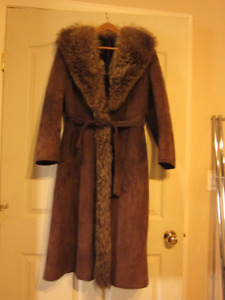 Full Length Sheepskin Coat