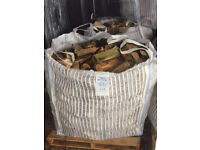 Logs/Firewood for Sale. Cubic metre bags of hardwood. Free delivery to local area
