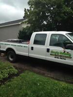 Mowing, landscaping. flower beds, aerating, etc, etc.