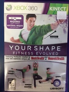 XBox 360 Your Shape Fitness Evolved (Requires Kinect)