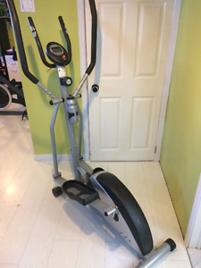 elliptique cardio style en bonne état 140$ferme pas négo**