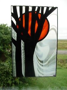 Stained glass tree vitrail tiffany arbre