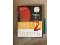 PASOS 2 3rd EDITION SPANISH COURSE BOOK AND CD PACK