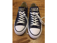 Convers all star trainers blue UK size 9. As new condition