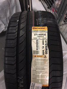 """20"""" Continental ContiSportContact 5 SSR **BRAND NEW**"""