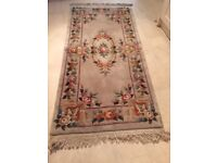Antique rug - pure wool - extremely good quality - as new