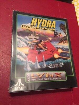 New & factory sealed - Hydra - Atari Lynx - complete -...