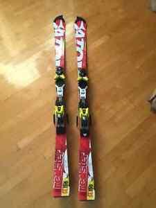 Ski GS et ski slalom atomic a vendre
