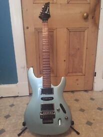 Ibanez S470 guitar - electric blue