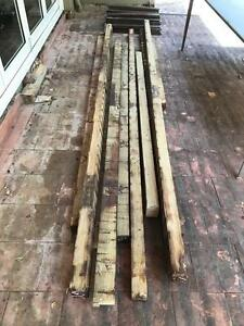 Treated Pine Posts - 90mm x 70mm,  approx 40 linear metres. Mosman Mosman Area Preview