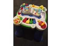 Baby toy sound activity board (leap frog)