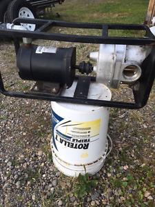 "NEW - 2"" PORTABLE FIRE WATER/FUEL TRANSFER PUMP - or  OILS"