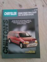 Chilton Manual for Chrysler Caravan, Voyager, Town and Country