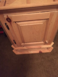 Corner Cabinet with drawer