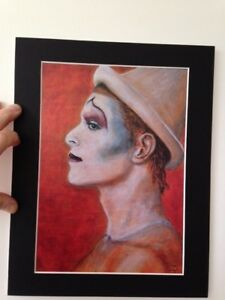 David Bowie original Art Ashes to Ashes 14