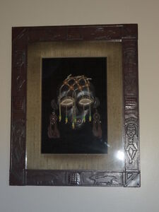 Mask in Shadow Box