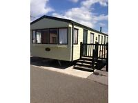 8 birth caravan For hire towyn north wales with sea views (golden sands)