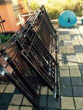 5 x lengths of black steel/ iron balustrade Hillarys Joondalup Area Preview
