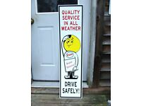 """12/"""" WIDE ZEPHYR 3 GASOLINE GAS decal lubster gas pump oil man cave"""