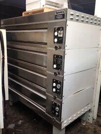 Sveba Dahlen 4 deck electric bakers oven