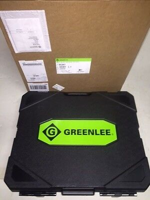 New Greenlee 7310 Sb Ko 555 853 854 855 Hydraulic Knockout Punch Set Case 12-4