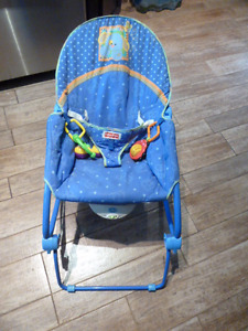 Fisher-Price Calming Vibrations infant chair converts to rocker