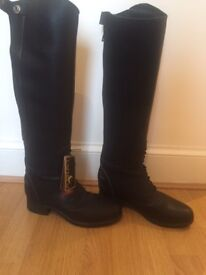 Ariat Bromont, Black riding boots, size 4 1/2, never worn