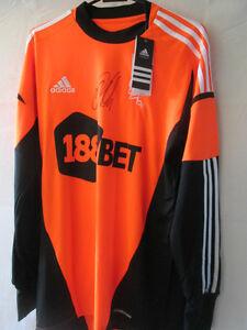 Adam-Bodgan-Signed-Bolton-Wanderers-Goalkeeper-Football-Shirt-with-COA-13816