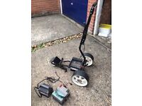 Electric Golf Trolley - with battery and charger - priced for a quick sale!