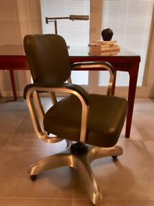 Mid Century Vintage Industrial Propeller Office Chair