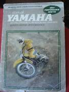 YAMAHA 80-175 ENDURO & MOTOCROSS WORKSHOP MANUAL c1968-1978 Dianella Stirling Area Preview