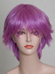Scruffy-801 wig in Violet purchased from cosplay.com