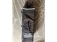 Redkite Baby Travel Carry Cot Black
