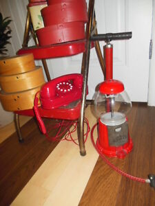 some vintage red items London Ontario image 3