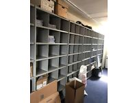 Office/Industrial Racking Grey 14 Bays In great Condition