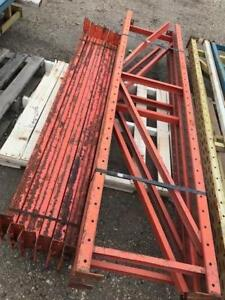 BUNDLE OF USED PALLET RACKING - BUNDLE #9