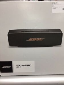 BOSE SOUNDLINK MINI II BLUETOOTH SPEAKER!