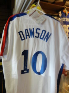 Autographed Jersey Andre Dawson Montreal Expos at Slapshot!