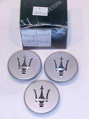 Maserati 3200 Wheel Center Cap_387201362_4200_Spyder_GT_Gransport_3 Caps_GENUINE