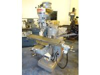 BRIDGEPORT BELT HEAD TURRET MILLING MACHINE