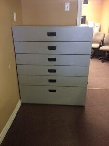 6 Drawer Card File Cabinet