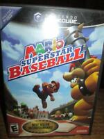 ***NINTENDO GAMECUBE MARIO SUPERSTAR BASEBALL/TESTED!!!***