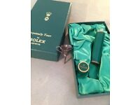 Vintage Perfume 5ml Bottle with the gold Rolex Crown