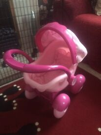 Girls first pram