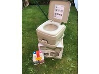 Portable Camping Flush Toilet
