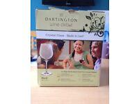 4 Wine Glasses Dartington Wine Debut Red (NEW) - HARROW