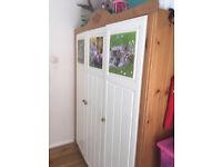 Wardorbe - shelf -cupboard - wood - pine